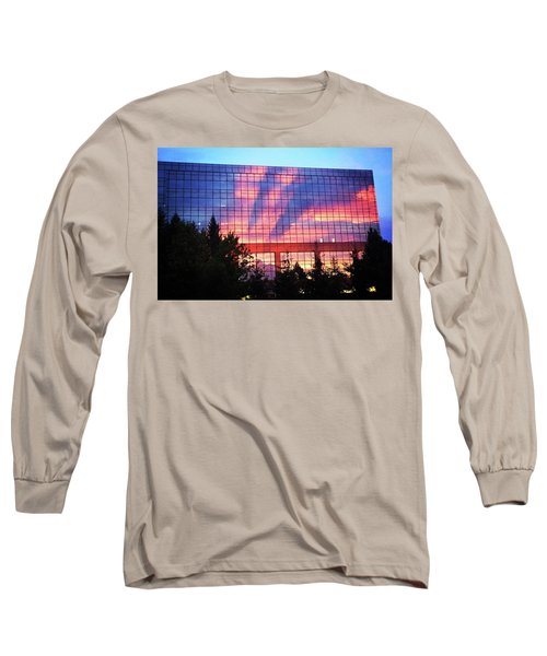 Mirrored Sky Long Sleeve T-Shirt