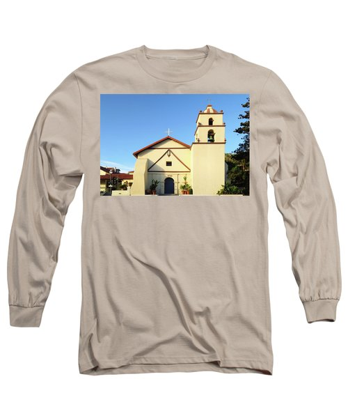 Mission San Buenaventura, Ventura, California Long Sleeve T-Shirt