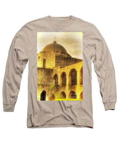 Mission San Jose San Antonio Texas Long Sleeve T-Shirt