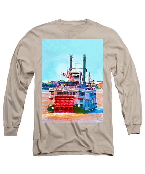 Mississippi Steamboat Long Sleeve T-Shirt