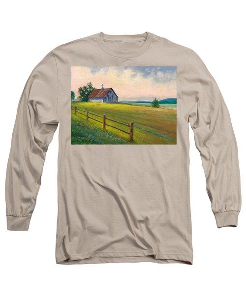 Missouri Barn Long Sleeve T-Shirt