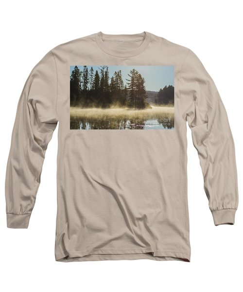 Mist On Costello Lake Long Sleeve T-Shirt