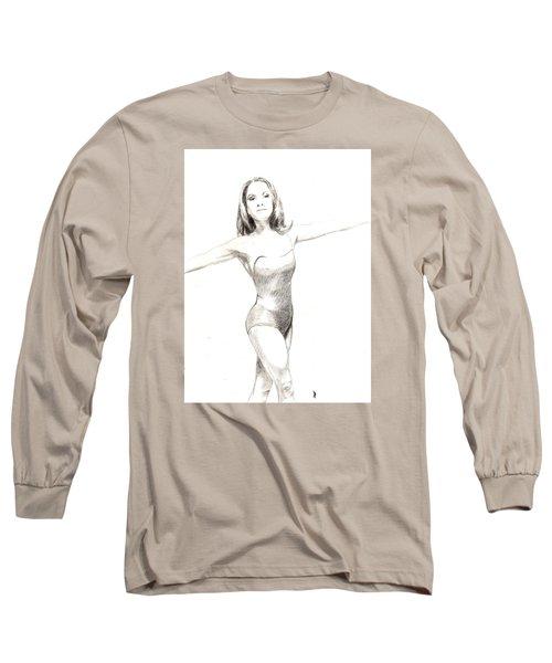 Misty Ballerina Dancer II Long Sleeve T-Shirt