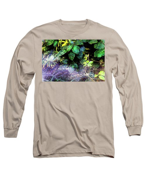 Misty Branches Long Sleeve T-Shirt