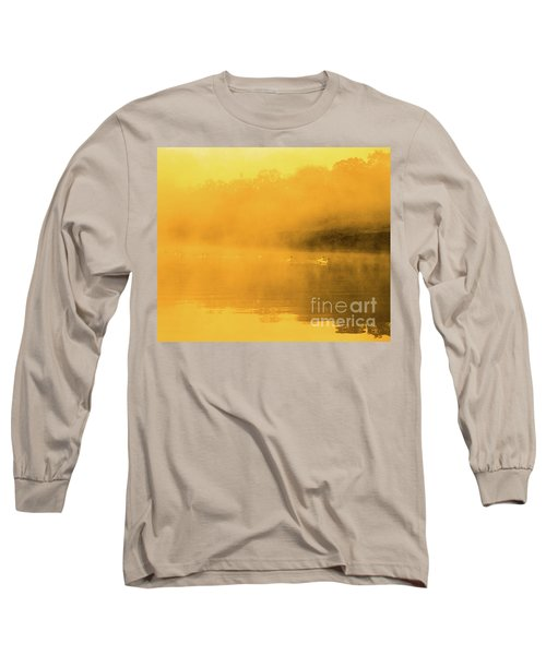 Misty Gold Long Sleeve T-Shirt