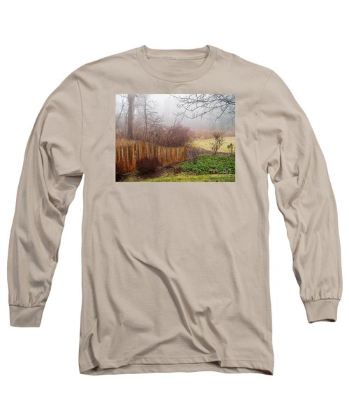 Long Sleeve T-Shirt featuring the photograph Misty Morn by Betsy Zimmerli