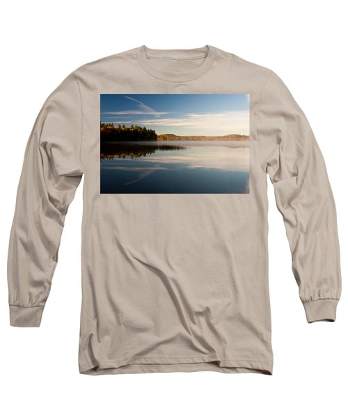 Misty Morning Long Sleeve T-Shirt by Brent L Ander