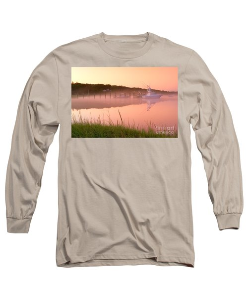Misty Morning Osterville Cape Cod Long Sleeve T-Shirt