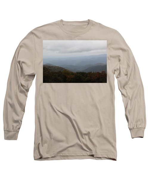 Misty Mountains More Long Sleeve T-Shirt