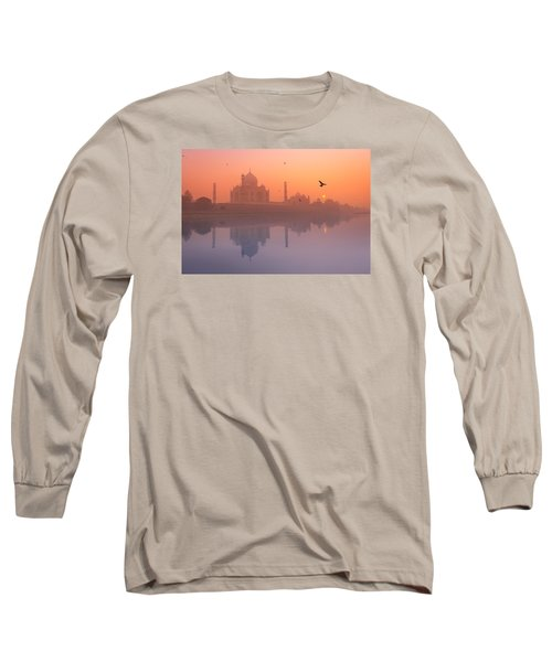 Misty Sunset Long Sleeve T-Shirt