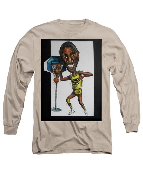 Mj Caricature Long Sleeve T-Shirt
