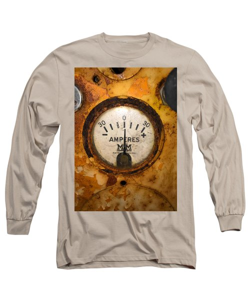 Mm Amperes Gauge Long Sleeve T-Shirt
