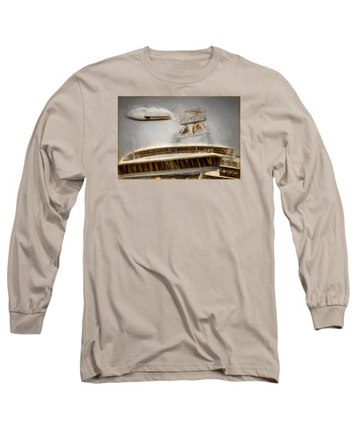 Moby Air Long Sleeve T-Shirt by Michael Cleere