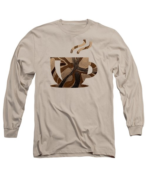 Mocha Java Swirl Long Sleeve T-Shirt
