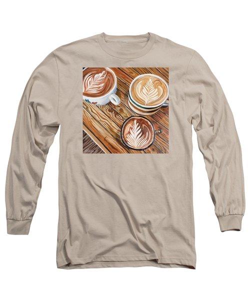 Mocha Trinity Long Sleeve T-Shirt