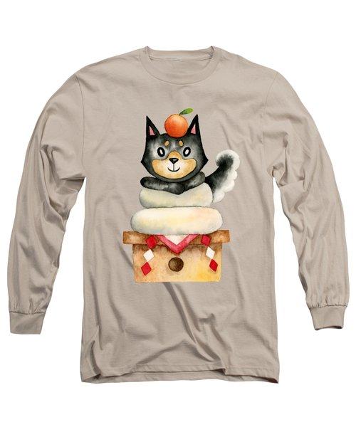 Mochi Shiba Long Sleeve T-Shirt