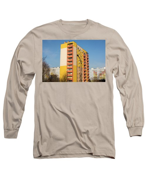 Long Sleeve T-Shirt featuring the photograph Modern Apartment Buildings by Juli Scalzi