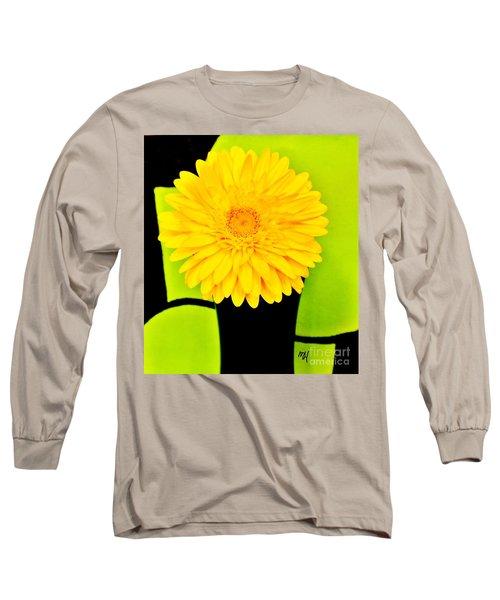 Long Sleeve T-Shirt featuring the photograph Modern Gerber by Marsha Heiken