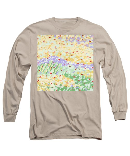 Modern Landscape Painting 3 Long Sleeve T-Shirt by Gordon Punt