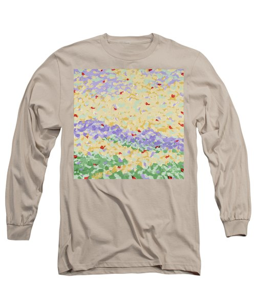 Modern Landscape Painting 4 Long Sleeve T-Shirt by Gordon Punt