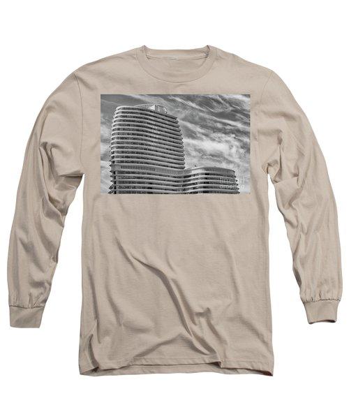 Modern Office Building Long Sleeve T-Shirt