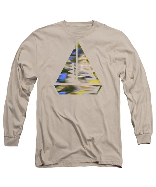 Long Sleeve T-Shirt featuring the photograph Mojave Gold Mosaic Abstract Art by Christina Rollo