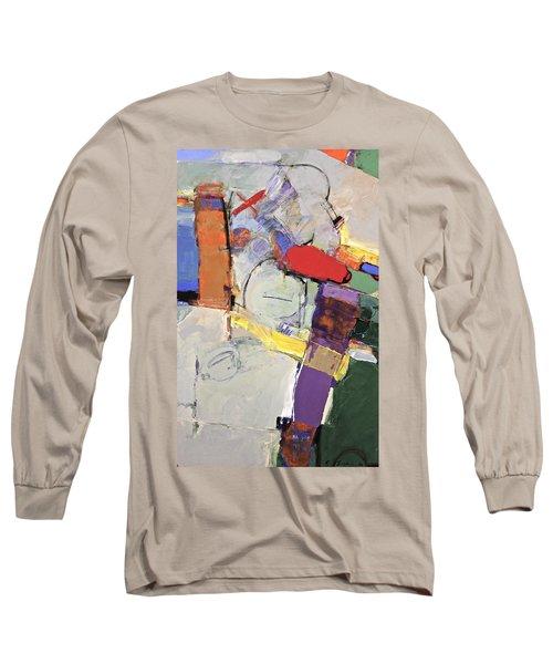 Long Sleeve T-Shirt featuring the painting Mojo Rizen Via La Woman by Cliff Spohn