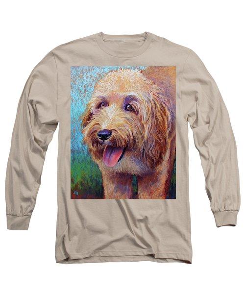 Mojo The Shaggy Dog Long Sleeve T-Shirt