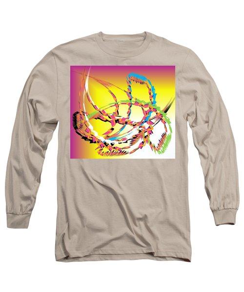 Molecular Energy Long Sleeve T-Shirt by Belinda Threeths