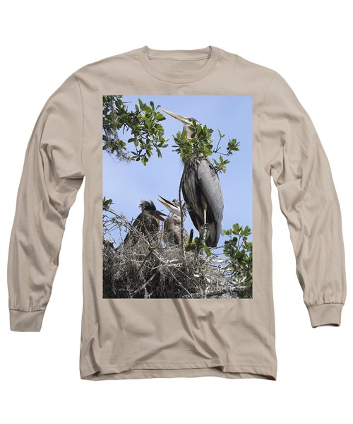 Mom And Babies Long Sleeve T-Shirt