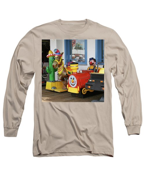 Mommy Let's Ride Long Sleeve T-Shirt