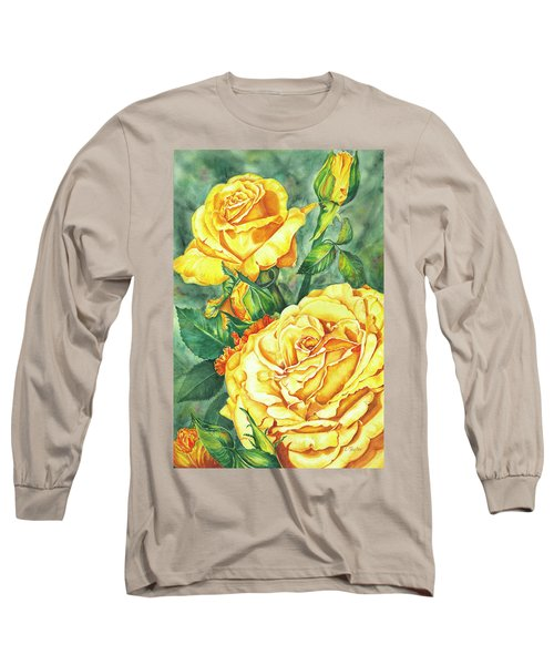 Mom's Golden Glory Long Sleeve T-Shirt