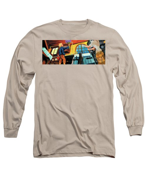 Mom's Kitchen Long Sleeve T-Shirt