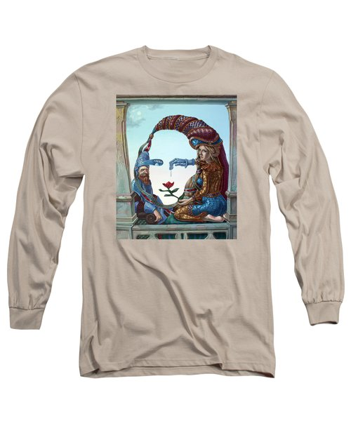 Mona Lisa. Love Long Sleeve T-Shirt