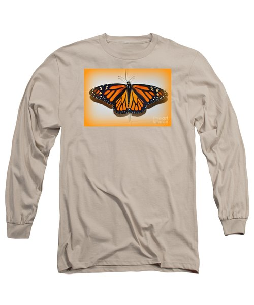 Long Sleeve T-Shirt featuring the photograph Monarch Beauty by Lew Davis