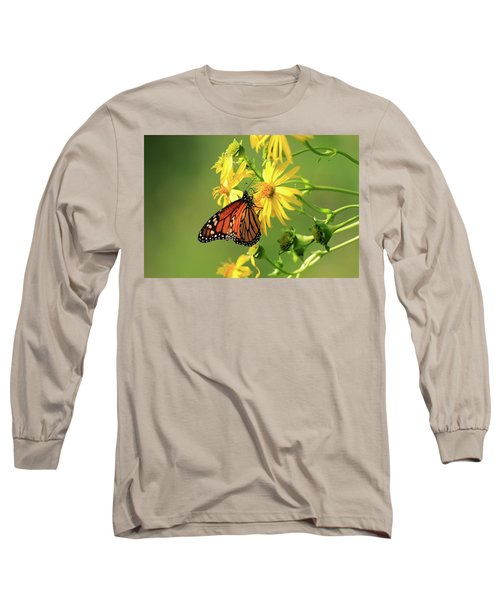 Monarch Butterfly Long Sleeve T-Shirt