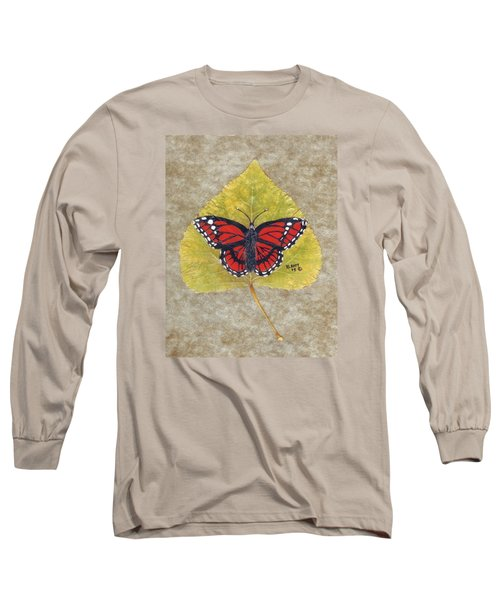 Monarch Butterfly Long Sleeve T-Shirt by Ralph Root