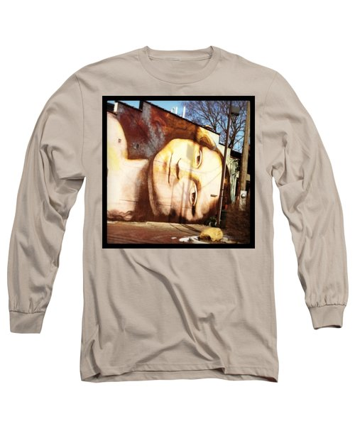 Mona's Facial Expression Long Sleeve T-Shirt