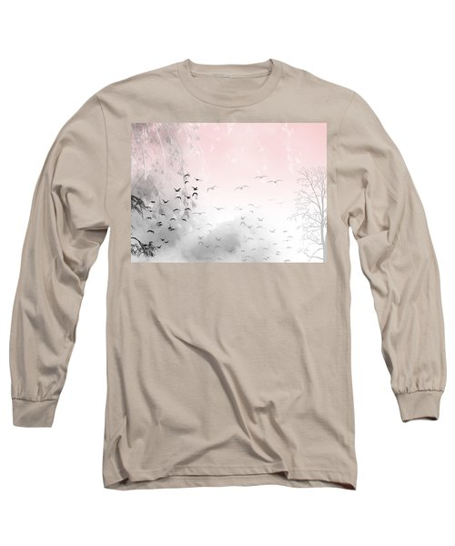 Mondays Long Sleeve T-Shirt by Trilby Cole