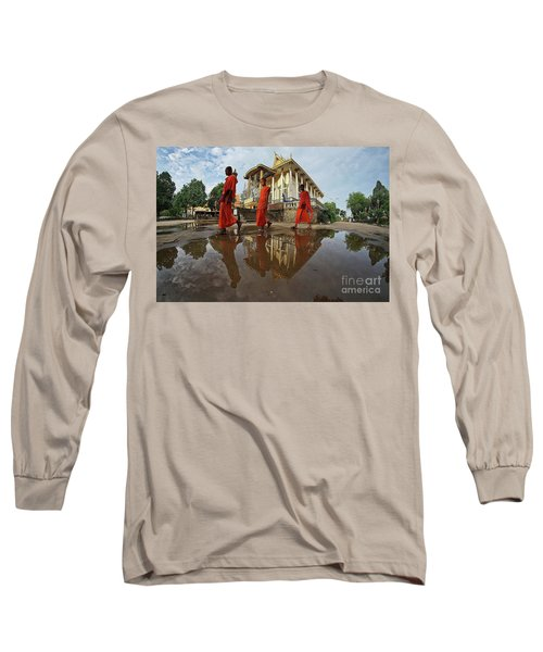 Monk Back Home Long Sleeve T-Shirt