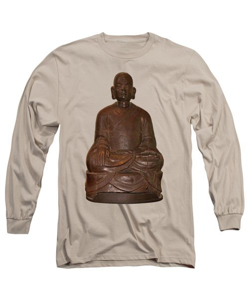 Monk Seated Long Sleeve T-Shirt
