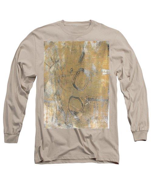 Long Sleeve T-Shirt featuring the drawing Mono Print 003 - I Am Not Art by Mudiama Kammoh
