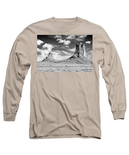 Long Sleeve T-Shirt featuring the photograph Monoliths by Jon Glaser