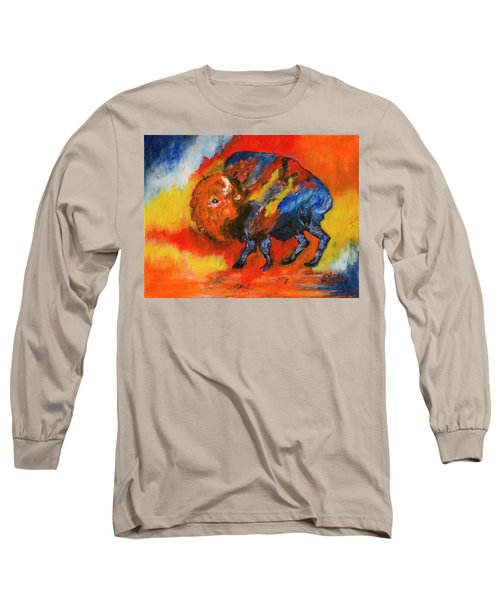 Montana Bison Long Sleeve T-Shirt
