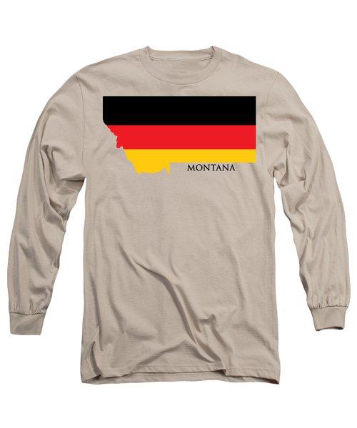Montana German Long Sleeve T-Shirt