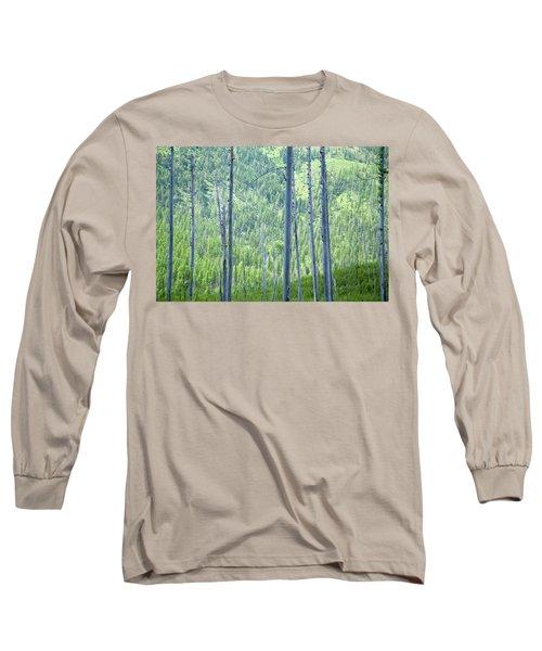 Montana Trees Long Sleeve T-Shirt