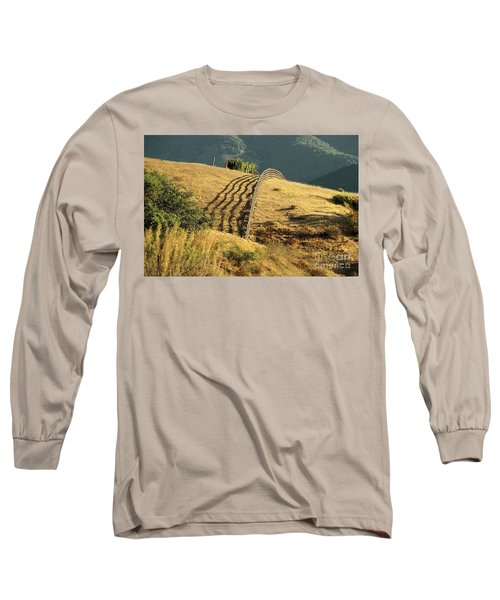 Monterey Hills Long Sleeve T-Shirt by Ellen Cotton