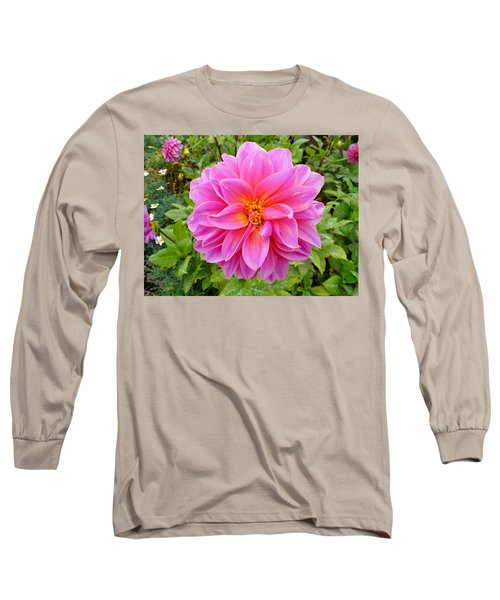 Monterey Pink Long Sleeve T-Shirt