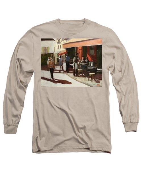Montmarte Cafe Long Sleeve T-Shirt