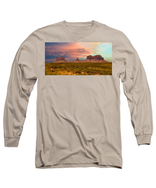 Monument Valley Landscape Vista Long Sleeve T-Shirt